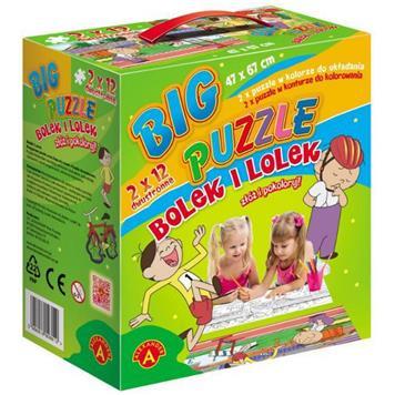 ALEXANDER Big Puzzle Bolek i Lolek