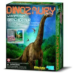 4M Wykopaliska Brachiosaurus