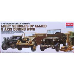 ACADEMY Light Vehicles of Allied & Axis