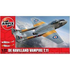 AIRFIX De Havilland Vampire T.11