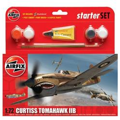 AIRFIX Curtiss Tomahawk II b Starter Set