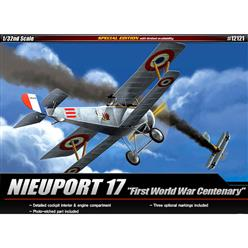 "ACADEMY Nieuport 17 ""WWI 100 TH Annivers"