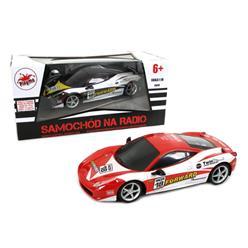 BRIMAREX Samochód Ferrari RC z ładowarką
