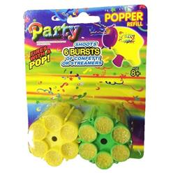 MINI POPPER 2 magazynki konfetti