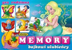 ADAMIGO Gra Memory Bajkowi Ulubieńcy